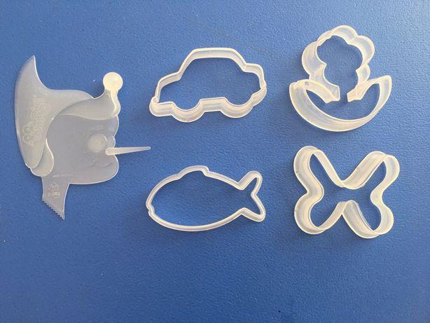 Formas de plástico para modelagem + ferramenta plástico