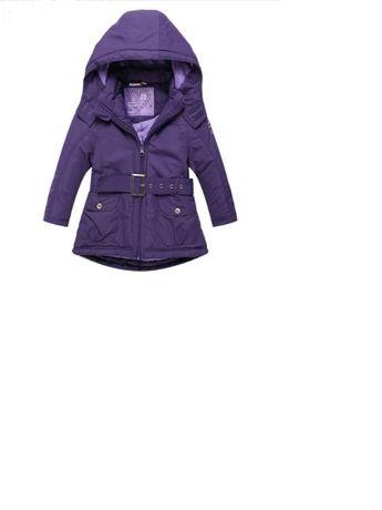 śliczna fioletowa kurtka 128