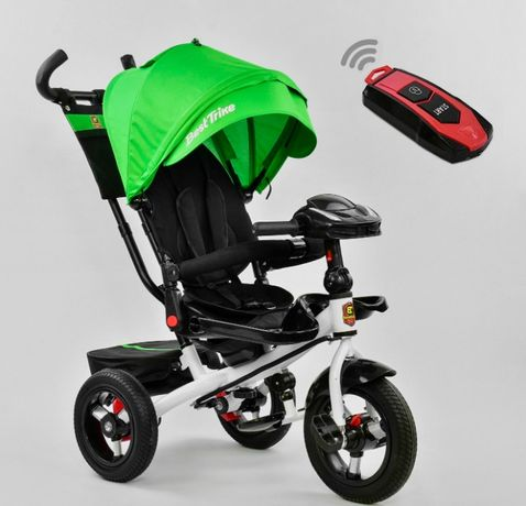Детский трёхколёсный велосипед Best Trikе с ручкой ровер дитячий