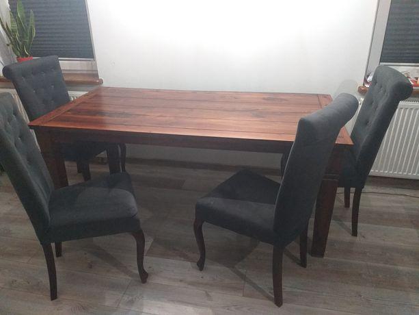 Stół plus krzesła komplet