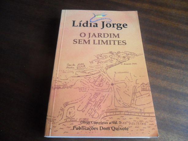 """O Jardim sem Limites"" de Lídia Jorge"