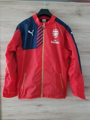 Oryginalna kurtka wiatrówka PUMA Arsenal Londyn The Gunners.