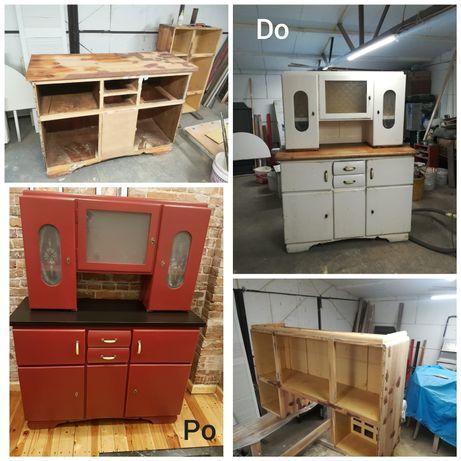 Renowacja Drzwi, Okien, Mebli (w tym fronty kuchenne), Bramy garażowe.