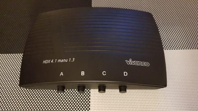 Przełącznik (Switch) HDMI (4xInput 1xOutput)