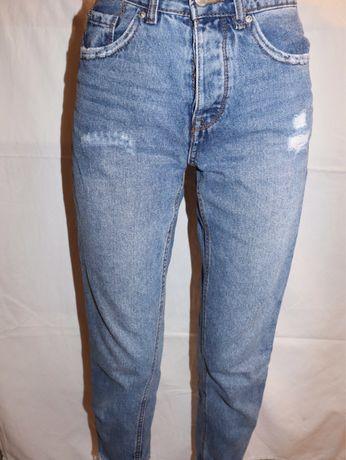 Mom jeans  Женские , Размер : 34 (USA);XS , Магазин : Stradivarius
