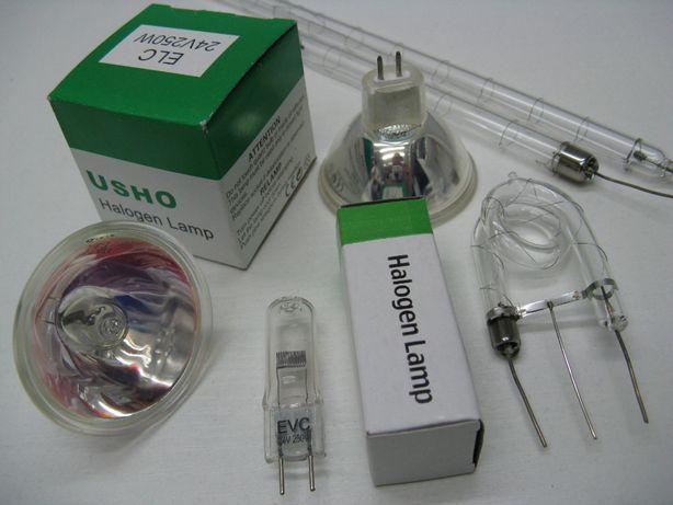 Галогеновые лампы для светового оборудования. Стробоскопов.