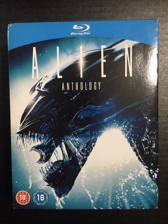 DVD Blueray box set: Alien Antology