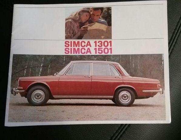 Simca - Catálogos, manual, folheto e jornal