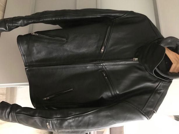 Kurtka motocyklowa skórzana męska Rypard jak nowa L/XL