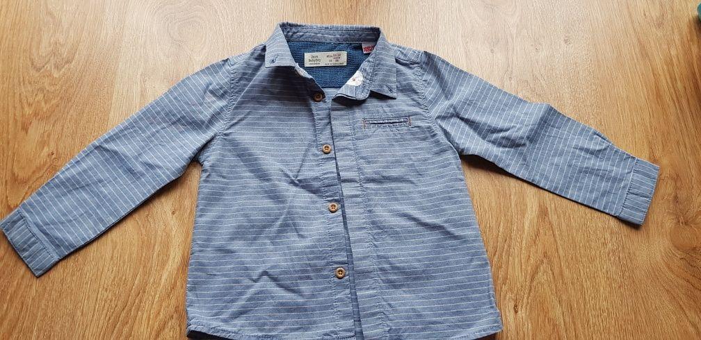 Koszula Zara rozm. 12-18 miesięcy