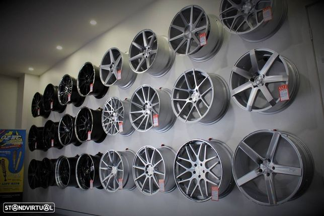 Jantes R17 Volswagen VW 5x112 17 Beetle Bora CC Caddy Eos Golf Jetta Passat Scirocco Sharan Touran