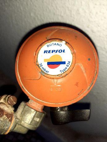 Redutor de gás respsol. 1 ano de uso. Bom Estado