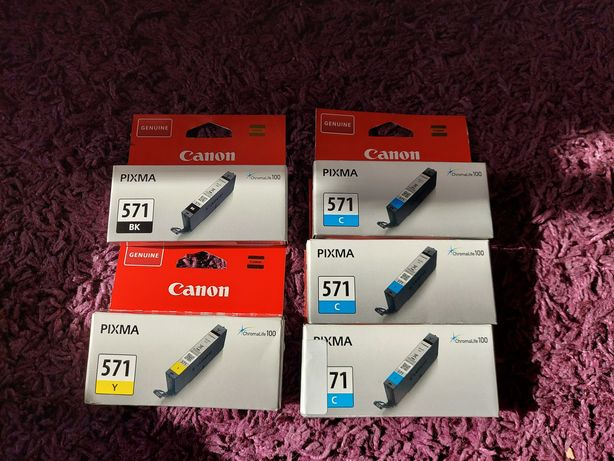 Tusz Canon 571