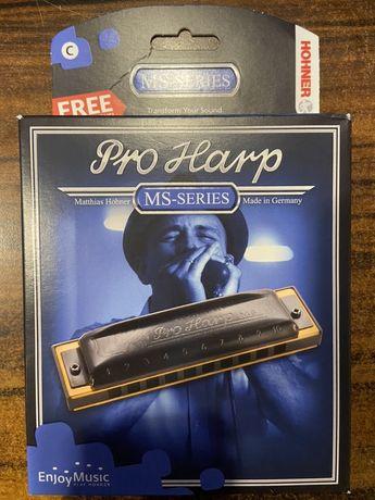 Harmonijka HOHNER Pro Harp MS-SERIES C Krys...