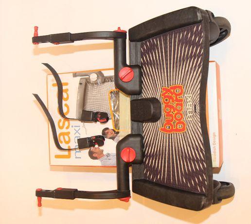 Super komplet - dostawka do wózka - Lascal buggy board maxi