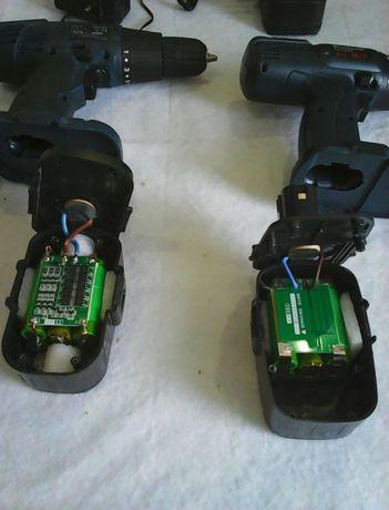 аккумулятор ремонт перепаковка шуруповерта на литий 12v 16v