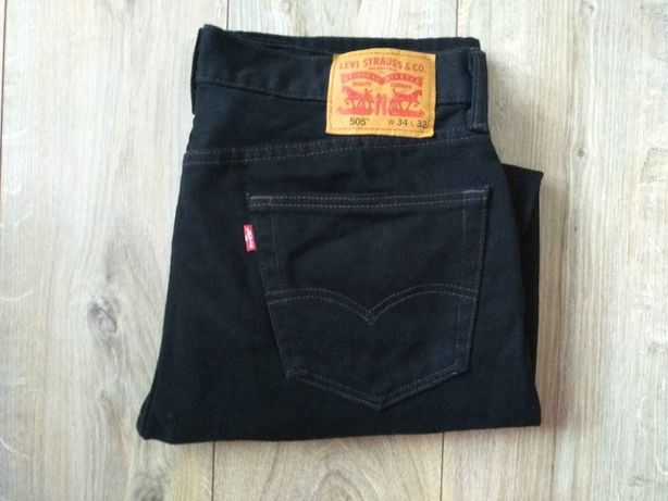 Levis 505 W34L32 super spodnie +BDB stan
