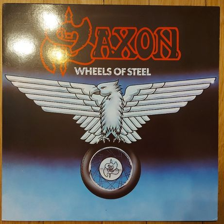 Saxon, Wheels Of Steel, Japan, 1980, P-10870G, IGŁA