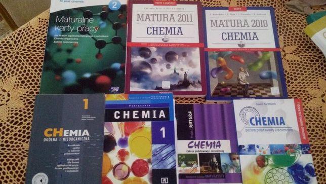 Chemia, matura, zbiór zadań do matury, przygotowanie do matury