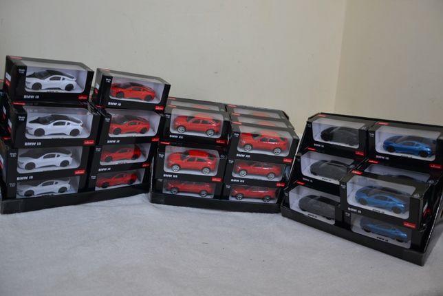 NOWE Modele 1:43 samochodów Firmy Rastar BMW X6 i8
