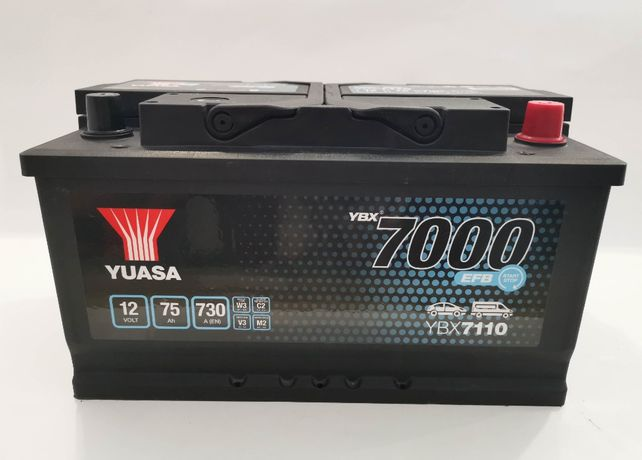 Akumulator YUASA YBX7110 EFB Start Stop 75Ah 730A Promocja!!!