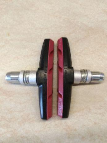 Колодки тормозные велосипедные (тормоза ободные, V-brake) -  пара