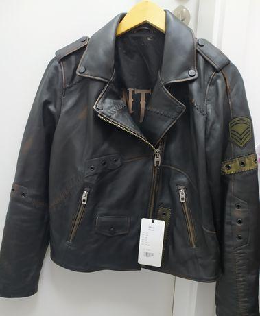 Куртка натуральная кожа, оригинал , Турция