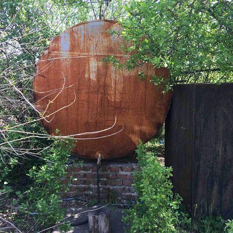Цистерна-емкость для воды металлическая