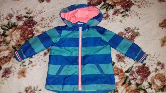 Куртка-дощовик F&F baby весна-осінь 9-12 міс