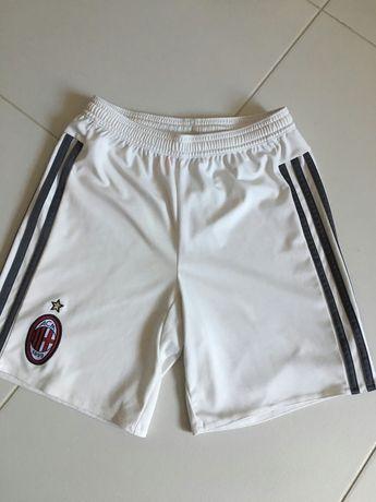 Шорти білі Adidas FC Milan climacool 10-12 років