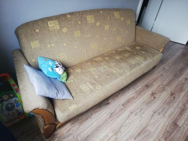 Tapczan kanapa sofa wym. 200x120 plus 2 fotele