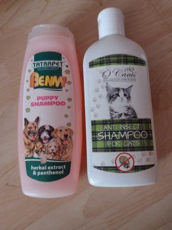 Szampony dla kotów i psów