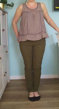 Spodnie ciążowe jeansowe BONPRIX 42 M/L