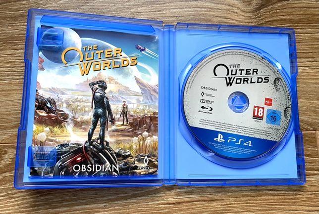 Outer Worlds PS4 zamiana Sekiro