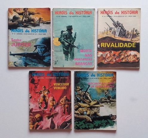 Livros Revistas - Banda Desenhada - Guerra