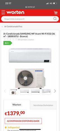 Ar Condicionado SAMSUNG 36 m2 18000 BTU