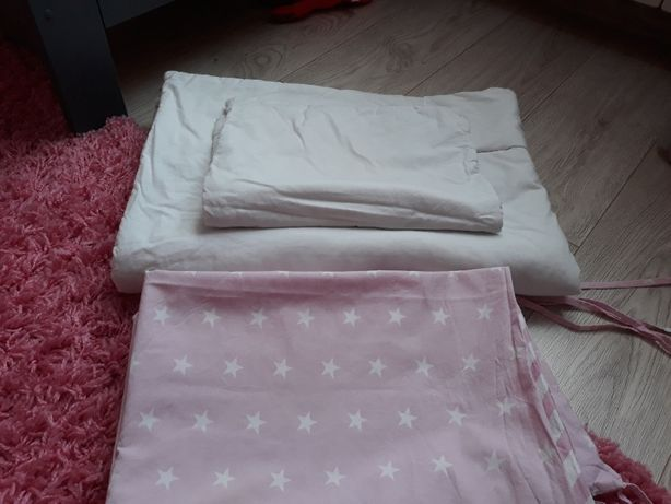 Pościele,ochraniacz,kołdra,poduszka do łóżeczka