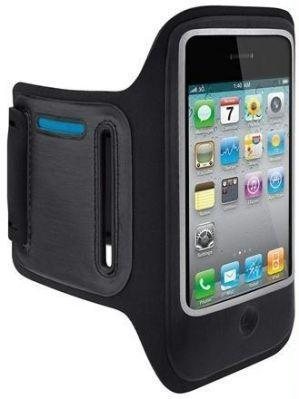 R79 Braçadeira de Desporto Preta iPhone 3 3GS 4 4S