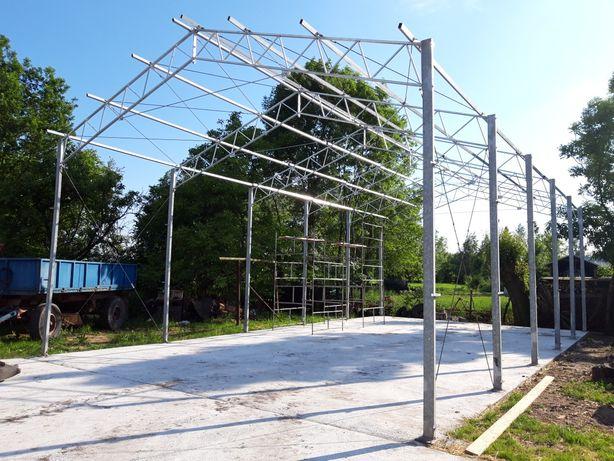 Konstrukcja stalowa garaż magazyn wiata hala