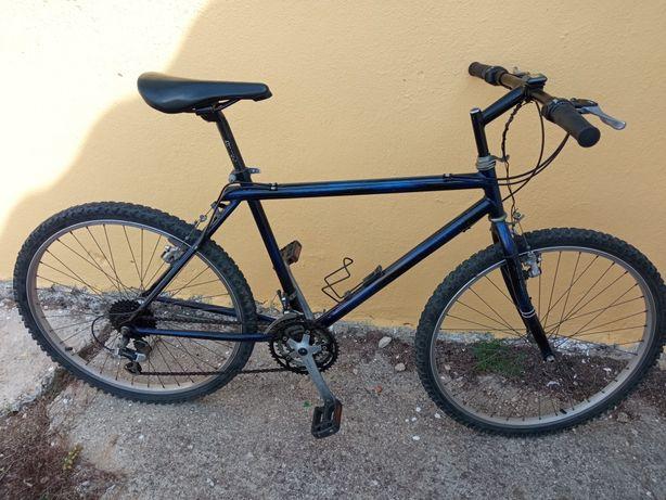 Bicicleta com mudanças Azul