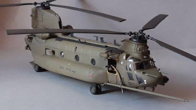 Model amerykańskiego helikoptera MH-47 CHINOOK