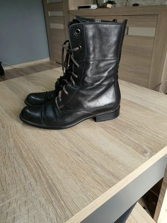 Buty botki Ryłko 37 czarne