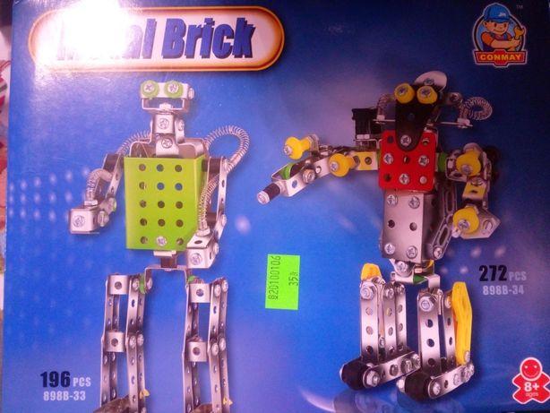 Klocki konstrukcyjne Mały Konstruktor Robot 272 elementy