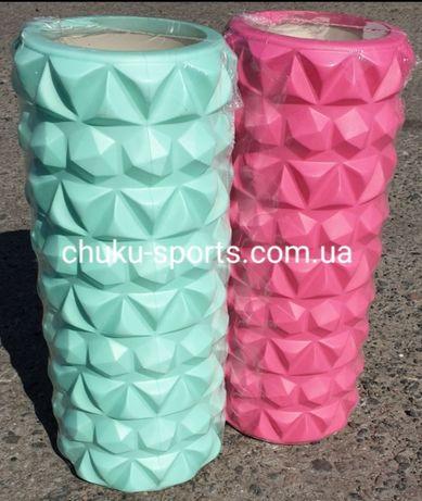 Ролик/валик/роллер массажный для всего тела, материал EVA, 33х14 см