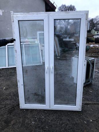 Okno PCV dwuskrzydłowe 190 szer. 130 wys..