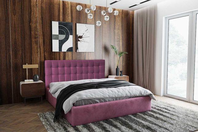 Łóżko Sypialniane Capri 90, 120, 140, 160, 180, 200cm  z Stelażem