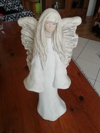 Figurka aniołek  z gipsu