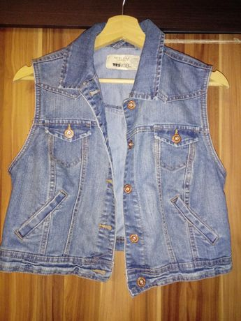 Kamizelka jeansowa New Look rozm. XL