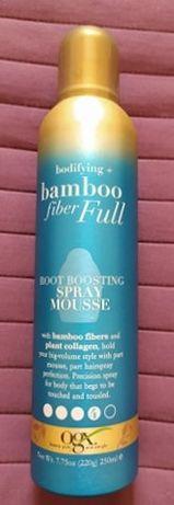 Pianka podnosząca nasadę włosów z USA Bamboo Fiber