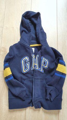 Bluza rozpinana z kapturem GAP i bluza z kapturem ZARA
